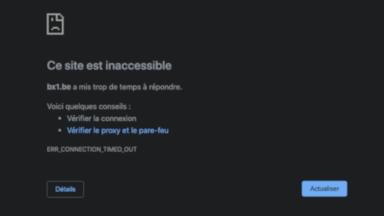 L'hébergeur OVH en panne : des milliers de sites momentanément inaccessibles, dont celui de BX1