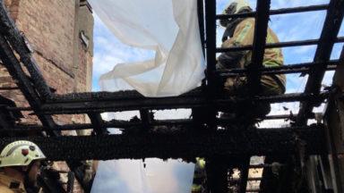 Une personne brûlée aux bras et au visage à la suite d'un incendie à Etterbeek