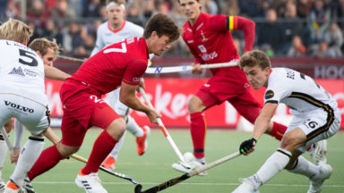 Les Red Lions s'imposent 6-1 devant l'Allemagne sur le terrain Uccle Sport