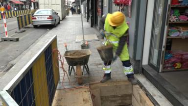 Anderlecht : travaux de réaménagement sur la rue Wayez