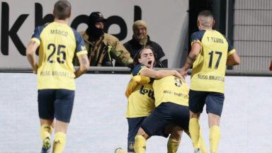 L'Union Saint-Gilloise s'impose difficilement face à Eupen et garde la tête du championnat